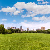 Central Park Sheep meadow Manhattan New York Royalty Free Stock Images