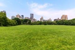 Central Park Sheep meadow Manhattan New York Stock Photos