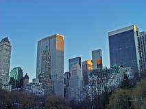 Central Park sikt Arkivfoto