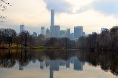 Central Park sikt Royaltyfria Bilder