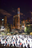 Central Park Skating Rink, New York Stock Images