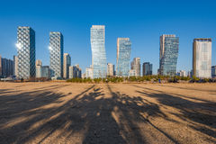 Central Park in Songdo International Business District , Incheo. N South Korea Royalty Free Stock Images