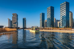Central Park in Songdo International Business District , Incheo. N South Korea Stock Image