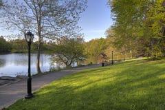 Central Park in spring Stock Photos