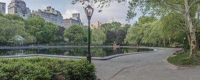 Central Park spring Stock Image