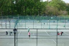 Central Park Tennis Center Stock Images