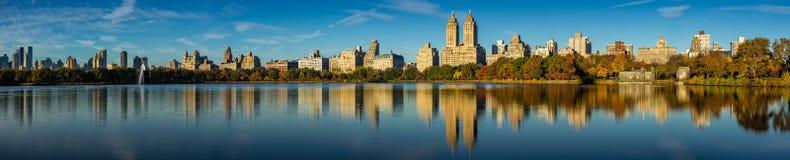 Central Park und Upper West Side im Fall, New York Stockbilder