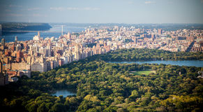 Central Park and Upper East Side Stock Photo