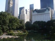 Central Park utsikt Fotografering för Bildbyråer