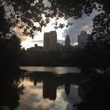 central park view Obrazy Royalty Free