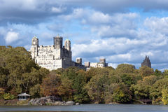 Central Park view, New York City Royalty Free Stock Photography