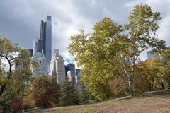 Central Park view, New York City Stock Images