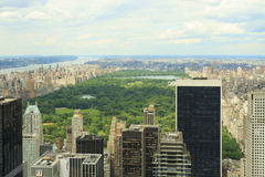 Central Park view Royalty Free Stock Photo