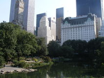 Central Park Vista Immagine Stock