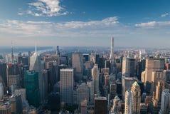 Central Park von oben stockfotos