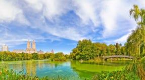 Central Park w jesieni w Miasto Nowy Jork Zdjęcia Royalty Free