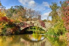 Central Park w jesieni w Miasto Nowy Jork Fotografia Royalty Free
