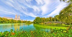 Central Park w jesieni w Nowy Jork Zdjęcia Stock
