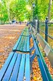 Central Park w jesieni w Nowy Jork Fotografia Stock