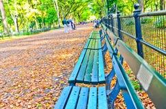 Central Park w jesieni w Nowy Jork Obrazy Royalty Free