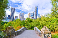Central Park w Miasto Nowy Jork w jesieni Zdjęcia Stock