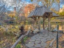 Central Park, Wagner Cove Royalty-vrije Stock Fotografie