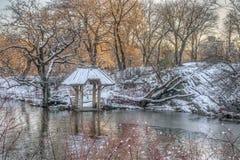 Central Park, Wagner Cove fotografie stock