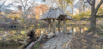 Central Park, Wagner Cove Royalty Free Stock Photography