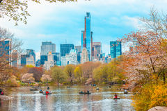 Central Park. While walking the streets of Manhattan, NY stock photography