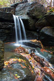 Central Park Waterfall. A Waterfall in Central Park Royalty Free Stock Photo