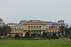 Central Park Wien Royalty Free Stock Photo