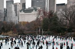 Central Park in the winter, New York City Stock Images