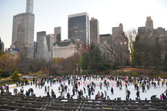 Central Park in the winter, New York City Stock Photography