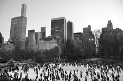 Central Park in the winter, New York City Royalty Free Stock Photo