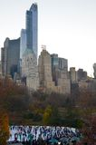 Central Park in the winter, New York City Royalty Free Stock Images