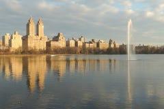 Central Park Zachodni Obraz Stock