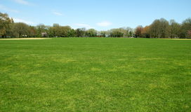Central- Parkbaseballfeld Lizenzfreies Stockbild