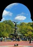 Central- Parkbrunnen stockbilder