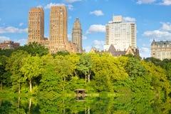 Central Parkmeer royalty-vrije stock afbeeldingen