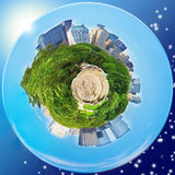 Central Park-Planet (New York) Lizenzfreie Stockfotos