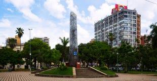 Central part of Asuncion Royalty Free Stock Image