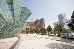 Central part of modern Macau Stock Photography