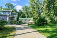 Central part of museum-estate Spasskoe-Lutovinovo of Ivan Turgenev Royalty Free Stock Photo