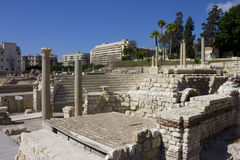 Free Central Part Of The Alexandria Roman Theater Stock Photo - 26336730