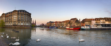 Central part of Strasbourg city, France Royalty Free Stock Image