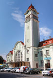 Central passenger railway station of Burgas Royalty Free Stock Photos