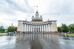 Free Central Pavilion At VDNKh Royalty Free Stock Photo - 57976775