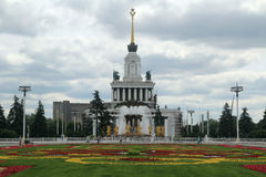 Central Pavilion, VDNKh, Moscow Stock Photo