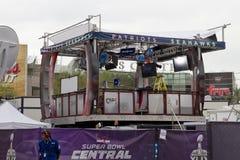 Central Phoenix do fã do Super Bowl XLIX de Verizon Fotos de Stock Royalty Free