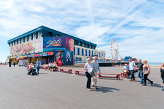 Central Pier in Blackpool Stock Photos
